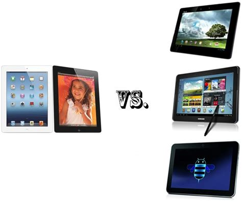 Tablet Samsung Vs Asus confronto nuovo vs asus transformer pad infinity