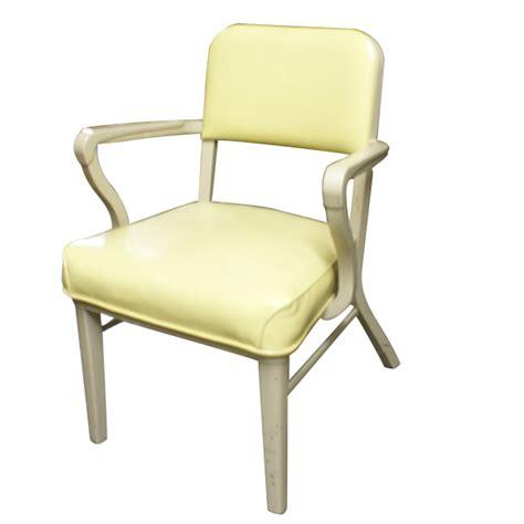 vintage steelcase metal upholstered arm chair retro ebay