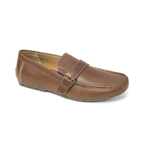hilfiger loafer shoes hilfiger caldwell loafers in brown for