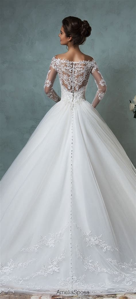 Italian Wedding Dresses by Amelia Sposa 2016 Wedding Dresses Part 2 The