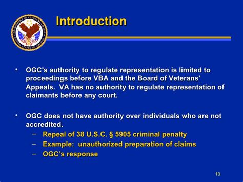 ogc may refer to legal assistance for america s heroes