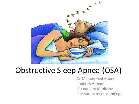 Sleep Apnea by Obstructive Sleep Apnea Osa
