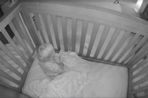 Crib Monitor by Genius Child Helps Baby Escape From Crib In Cctv
