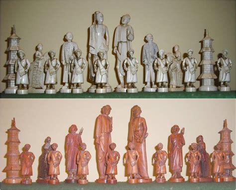 Chess Set Javanese Ivory Chess Set
