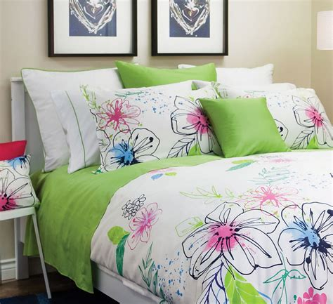 abstract bedding contemporary abstract floral print bedding st geneve