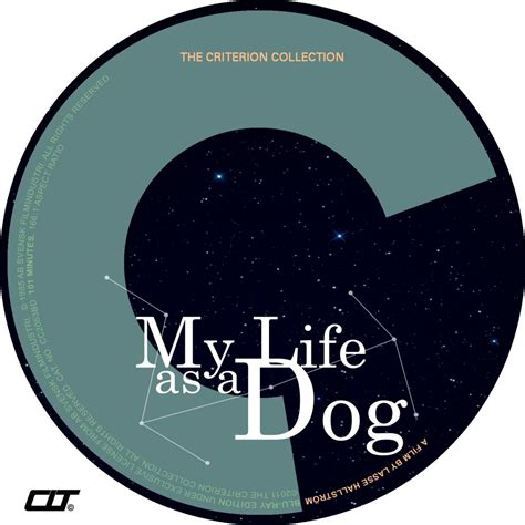 my as a my as a custom dvd labels mylifeasadogbrcriterionlabelcltv1 dvd covers