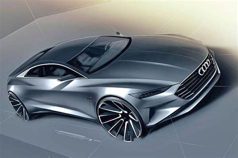 future audi a9 audi prologue concept teased in new sketches could