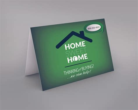 https www realty cards order template rac102a html real estate greeting card template