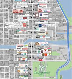 Map Of Downtown Chicago Hotels by Magnificent Mile Chicago Map Images