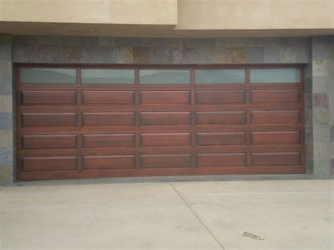 Custom Wood Sectional Garage Doors
