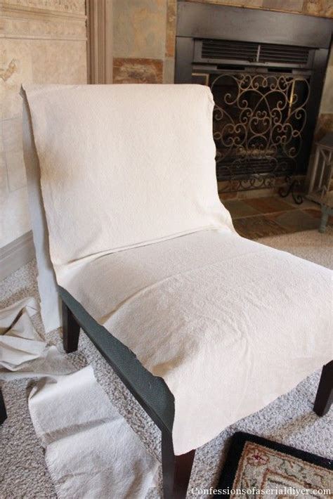 armless accent chair slipcover armless chair slipcover diy crafts