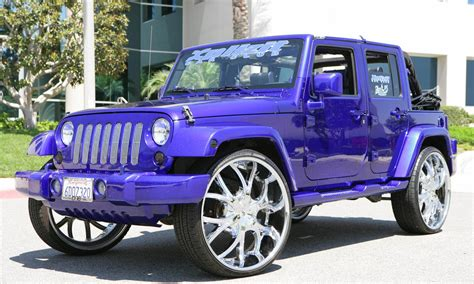 jeep custom 2010 jeep wrangler on 26 s big rims custom wheels