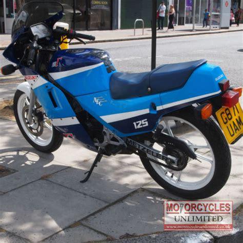 Suzuki Rg 125 For Sale 1990 Suzuki Rg125 Gamma For Sale Motorcycles Unlimited