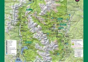 rocky mountain national park colorado map rocky mountain national park mobile map colorado map