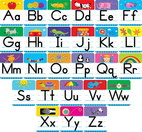 printable alphabet letters for display capital and lowercase letters charts activity shelter