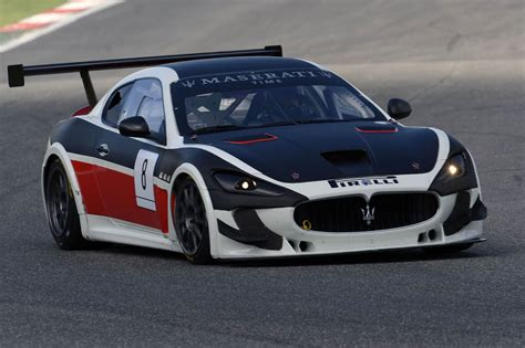Maserati Race Car 2013 Maserati Granturismo Trofeo World Series Race Car