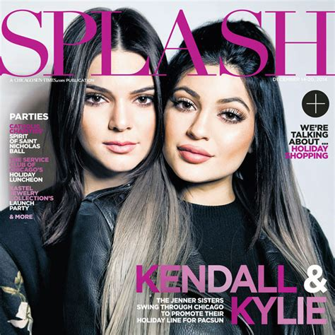 teen magazine kendall and kylie jenner kendall and kylie jenner cover splash magazine talk pet