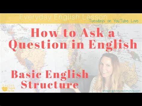 how to ask a question in english huzzah mates how to ask questions in english question structures youtube