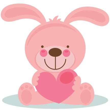 Jumping Beans 26 Bunny Pink bunny clipart 26