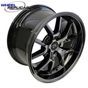 18x10 Truck Wheels Chrome 18x10 Black Chrome Mustang Fr500 Wheels 94 04 Wheel