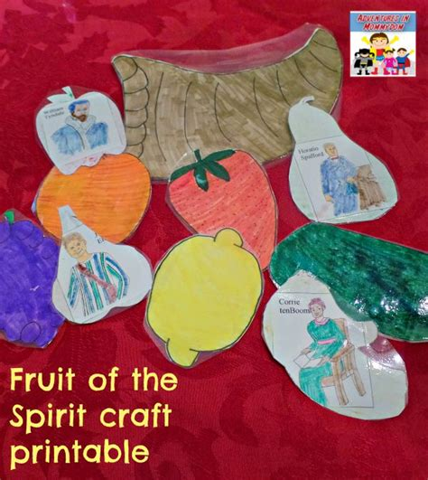 fruit of the spirit crafts for get your learning the fruit of the spirit with this craft