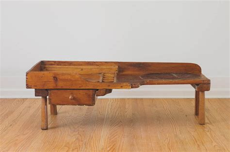 cobbler s bench antique 1800 s handcrafted cobbler s bench coffee