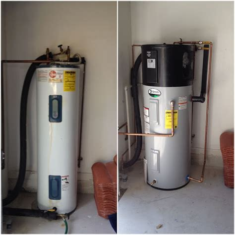 A.O. Smith Hybrid Heat Pump Water Heater Installed in Delray Beach, Florida   Water Heating