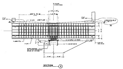 section beam construction documents of the georgia dome