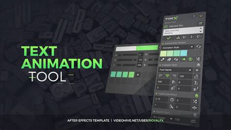 After Effects Template Typex Text Animation Tool Vol 05 Broadcast Titles Pack On Vimeo After Effects Text Animation Templates