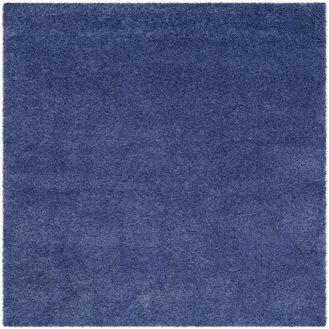 periwinkle rug safavieh california shag periwinkle 6 ft 7 in x 6 ft 7 in square area rug sg151 7171 7sq