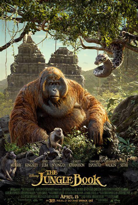the jungle book pictures disney reveals quot the jungle book quot triptych poster