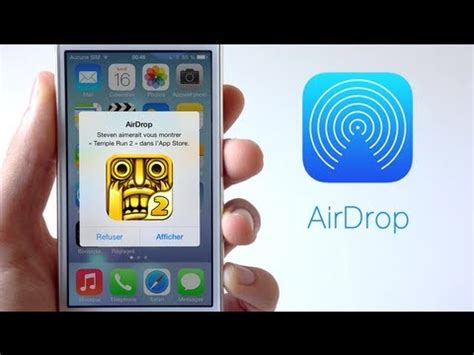 airdrop from iphone to iphone ios 7 le fonctionnement de airdrop