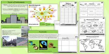 features of biography ks2 ppt human geography teaching pack ks2 geography lesson pack