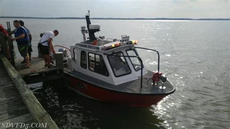 tow boat us cobb island seventh district volunteer fire department