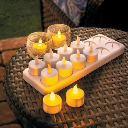 rechargeable tea light candles tea light flameless candles