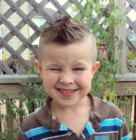kids mohawk styles awesome kids mohawk hairstyle for guys with smile