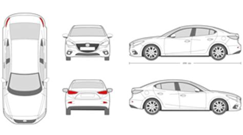 vehicle outline templates mr clipart