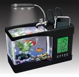 desk fish tanks a cool desktop caddy aquarium cool aquariums