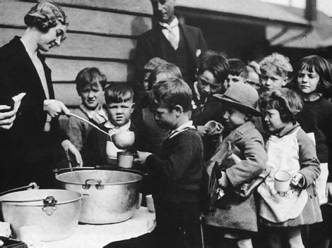 The Great Depression Soup Kitchen by Underneath The Happy Talk Is This As Bad As The Great