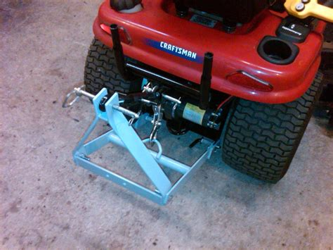 Garden Tractor Sleeve Hitch by Sleeve Hitch For Re Powered Craftsman Dyt 4000