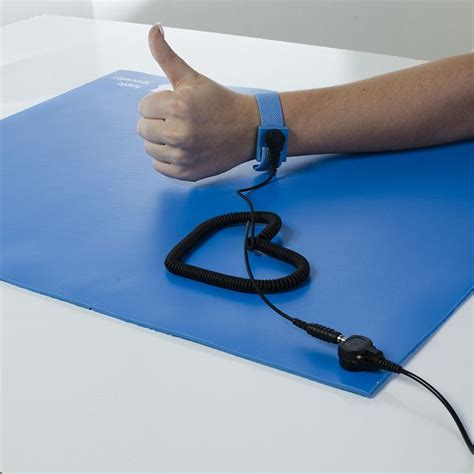 Anti Static Mat With Wrist anti static work surface kit anti static mats anti static work surface kit floor mats by mat