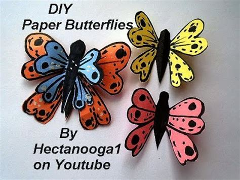 colorful paper butterflies easy craft for of all