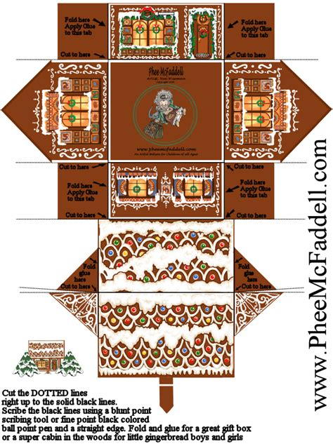 Gingerbread House Paper Craft - 1000 images about all about gingerbread on