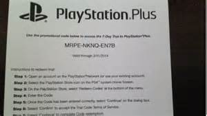 Select ps4 games come with a free playstation plus trial