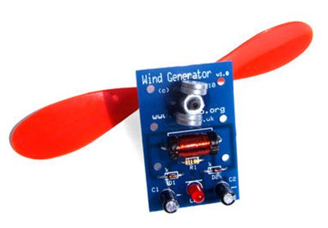 wind powered generator electronic kit ml224