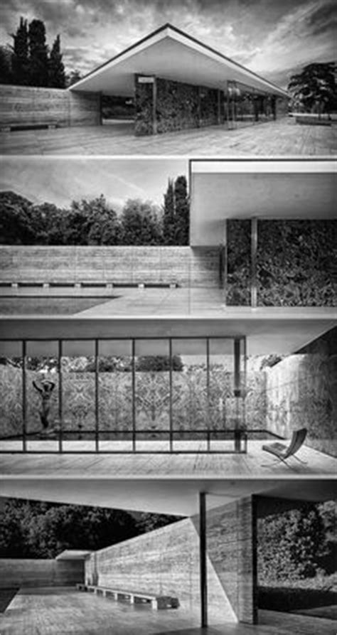 Philip Johnson Offical Glass House Building Floor Plans Scaled by Ludwig Mies Rohe Seagram Building New York 1954 8