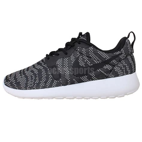 Running Shoes Nike Rosherun Black White nike wmns rosherun kjcrd roshe run black white 2015 womens