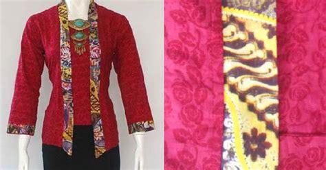 Baju Busana Muslim Batik Modern Cs Cp Mega Blue Termurah model baju batik kebaya kantor modern naswa 60rb