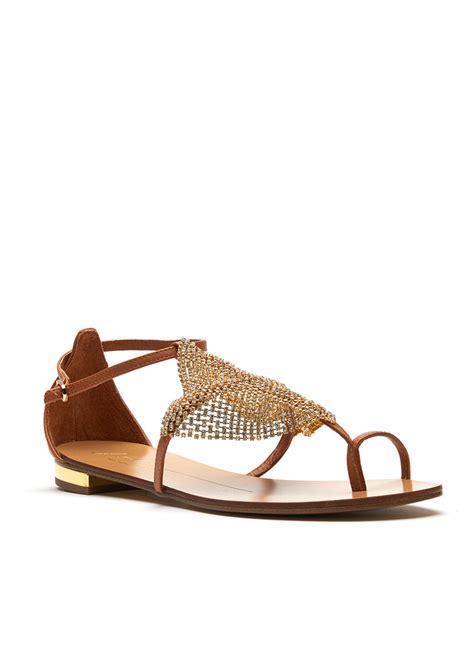 next jewelled sandals lola jeweled flat sandal gold