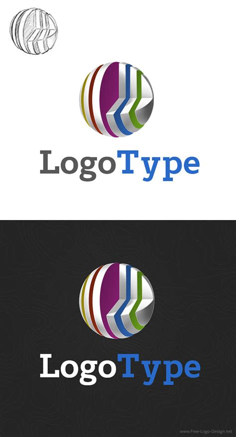 free logo design templates 3d logo design template free logo design templates